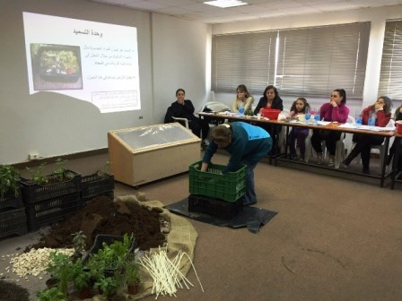 ESDU project on urban agriculture in Beirut suburbs produces a