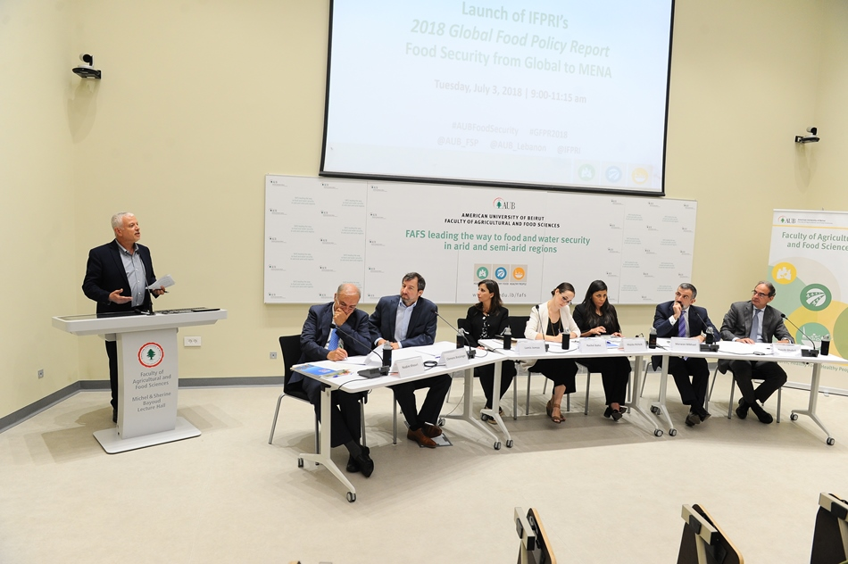 FAFS hosts the launch of the 2018 Global Food Policy Report: Food