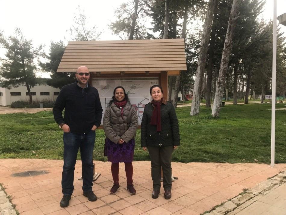FAO Representatives visit AREC